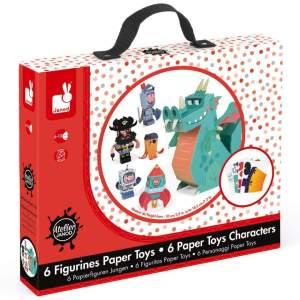 צעצועים יצירה-דמויות נייר - Mom & Me