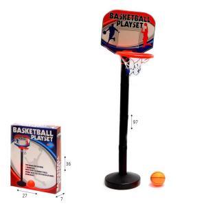 ספורט מעמד כדורסל פלסטיק עם כדור - Mom & Me