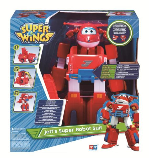 מטוסי על מטוסי על - ג'ט סופר רובוט - Mom & Me