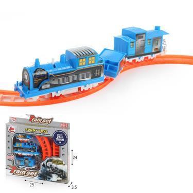 רכבות ומסלולים רכבת חשמלית עם מסילה - Mom & Me
