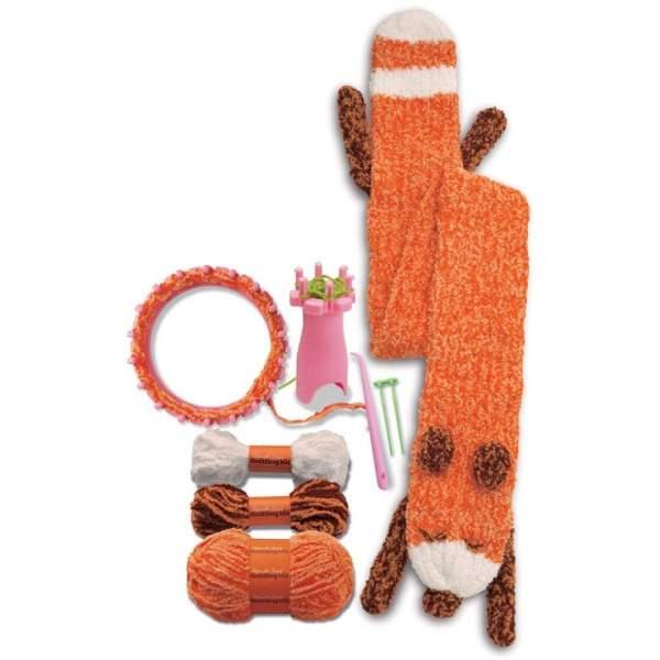 צעצועים סריגת צעיף מקסים - Mom & Me