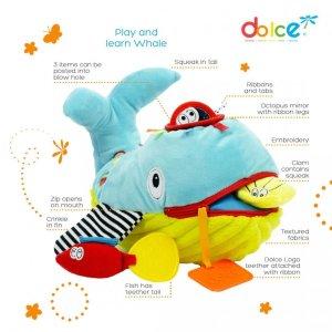 צעצועים צעצוע פעילות לווייתן שחק ולמד - Mom & Me