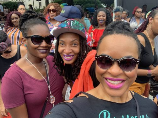 Girls trip day party