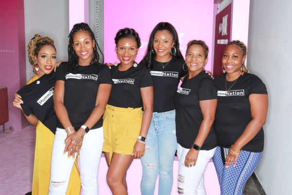 #BossMommies at the Elevate Her Crawl