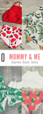 Mommy and Me Bathing Suit Sets