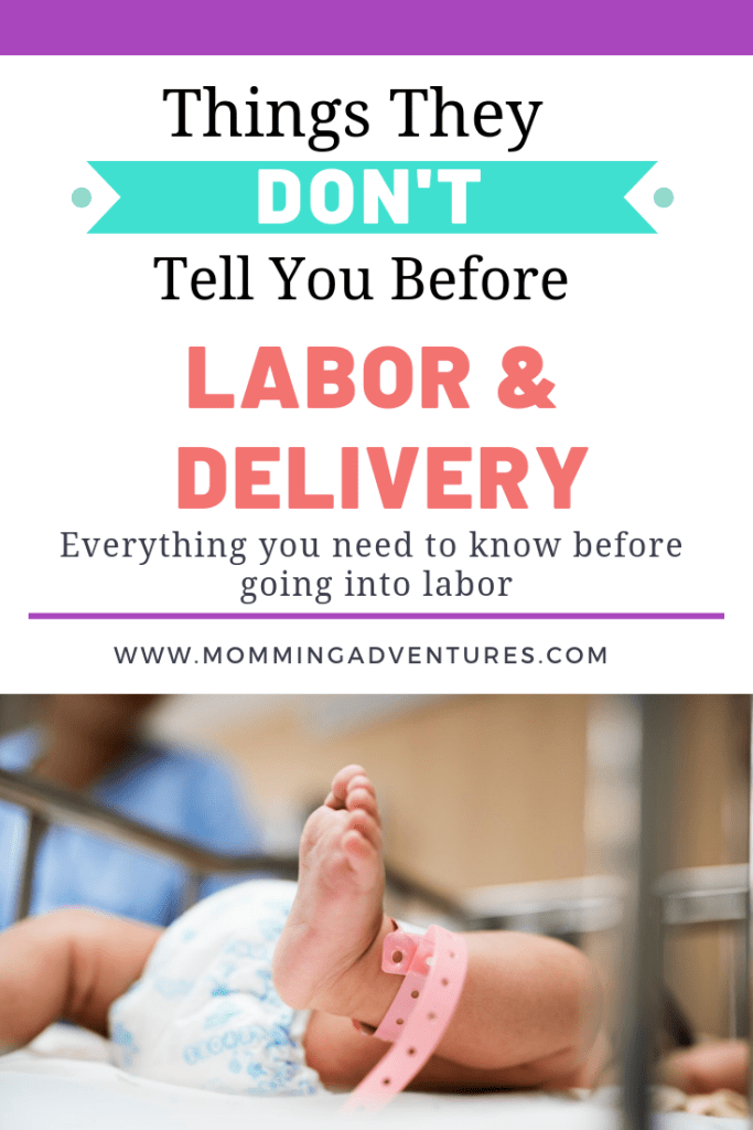 what you need to know for labor and delivery