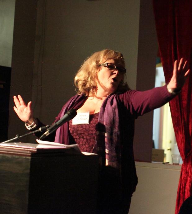 Andrea O'Reilly, Motherhood Hall of Fame, NYC (2014)