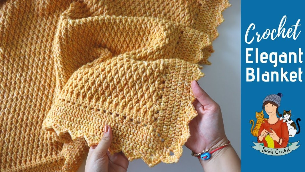 Natural Blanket in Crochet