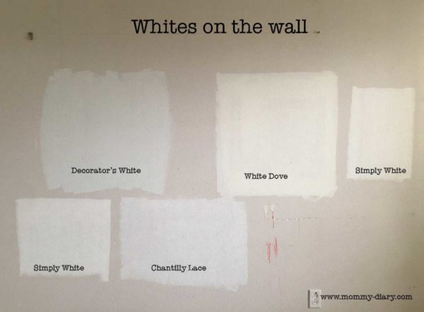 Choosing The Perfect Benjamin Moore White Paint Mommy
