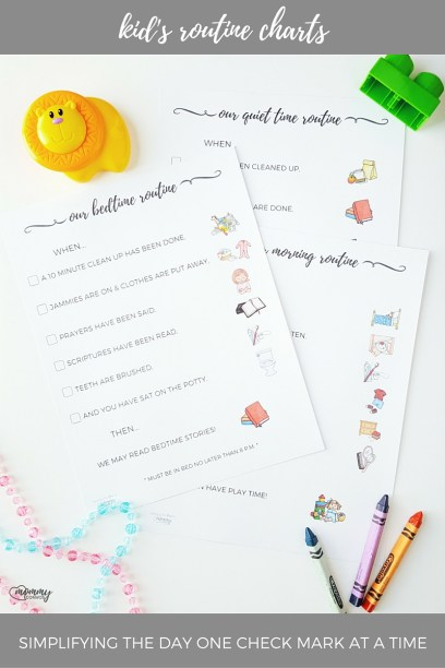 Printable bedtime routine chart. Morning routine kids. Kid routine chart. Routine charts for kids. Pretty printables for kids!
