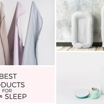 Whats Working Wednesday: 3 Awesome Products for Newborn Sleep
