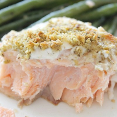 Low-Carb Lemon Parmesan Salmon