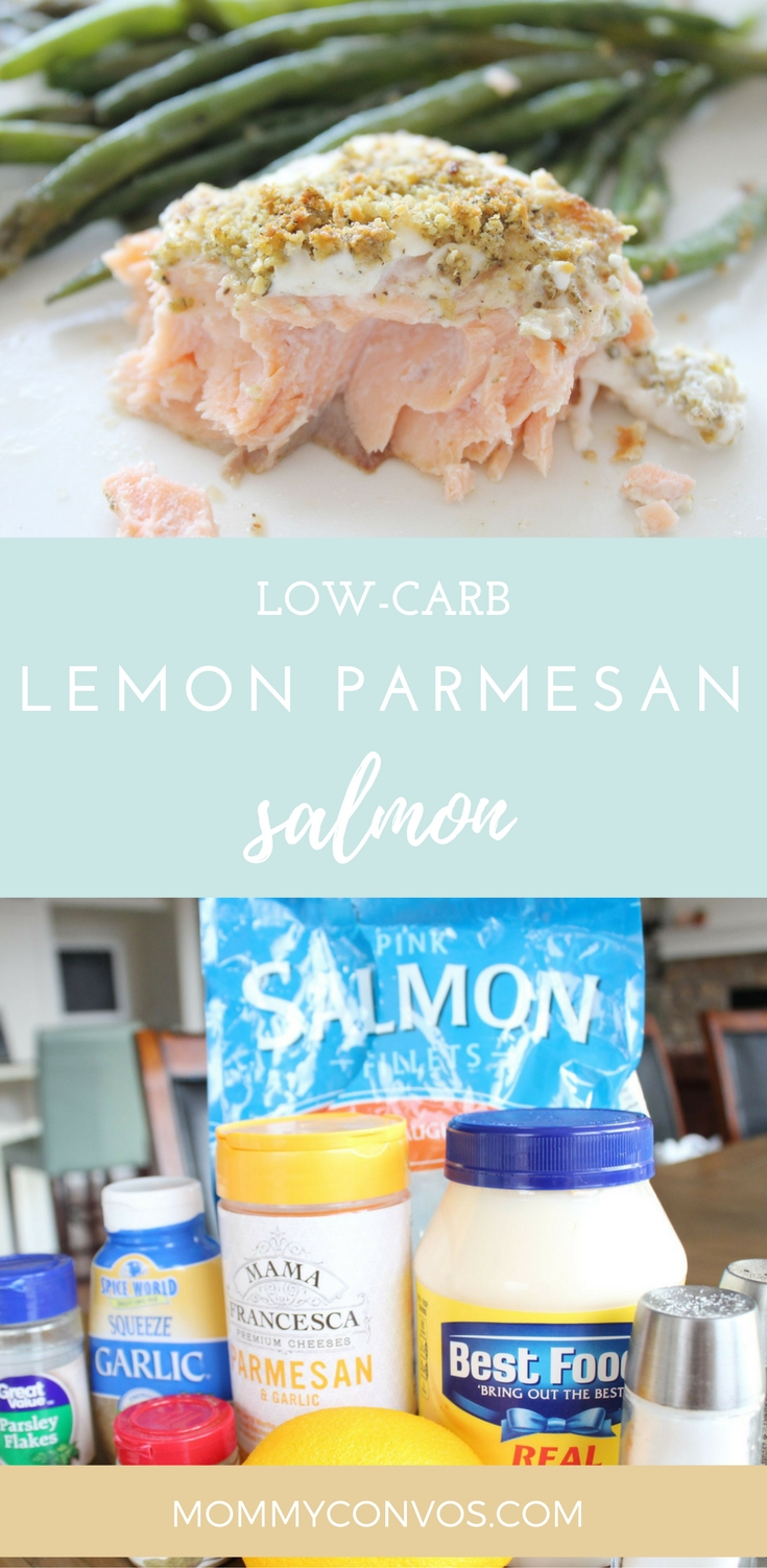 Encrusted salmon recipe (keto friendly) that is sooo easy and way delicious! Fancy meal, but way easy and pretty quick! low carb lemon parmesan salmon. keto diet. quick and easy low carb meal.