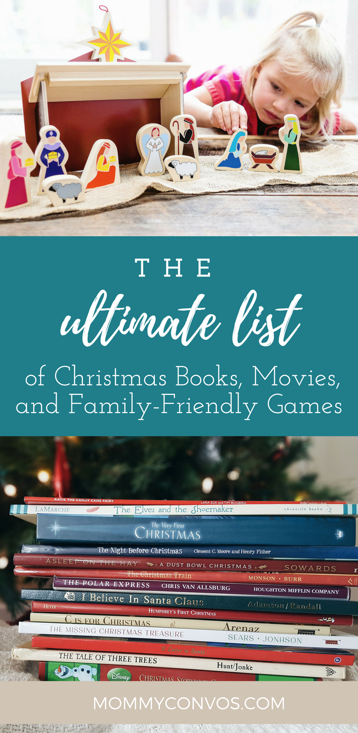 the ultimate list of christmas books movies and family friendly games christmas books - List Of Christmas Films