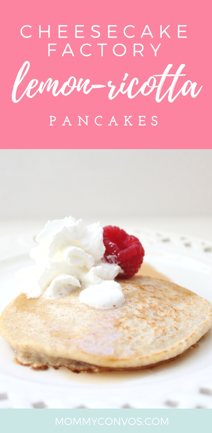 Lemon protein pancakes. Cheesecake factory inpsired recipe, so you know its delicious! Lemon ricotta pancakes recipe. High protein, easy, fast breakfast treat