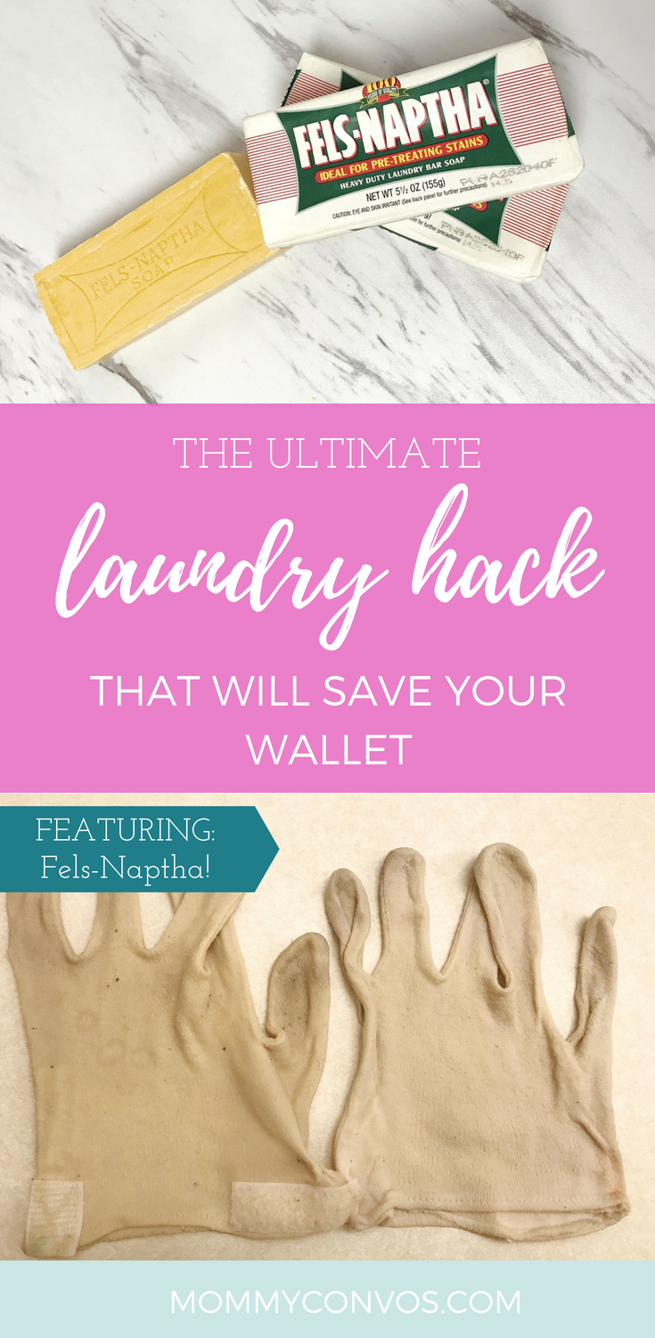 The Ultimate Laundry Hack that will save your wallet. laundry. laundry hacks. laundry day. Clean clothes. save money. Fels-naptha soap. fels-naptha.