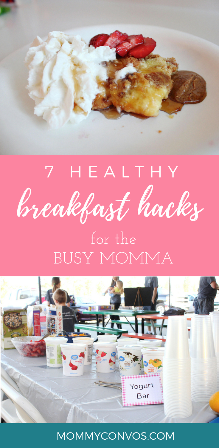 breakfast hacks. healthy breakfast ideas. healthy breakfast hacks for the busy momma. busy mornings for mom. breakfast ideas. healthy breakfasts. food hacks. breakfast recipes. healthy breakfast recipes.