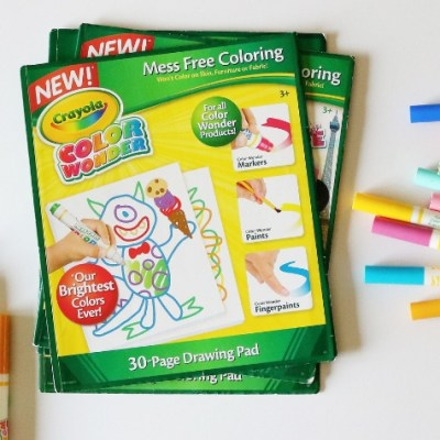 How to Have Coloring-Time Fun Without the Mess
