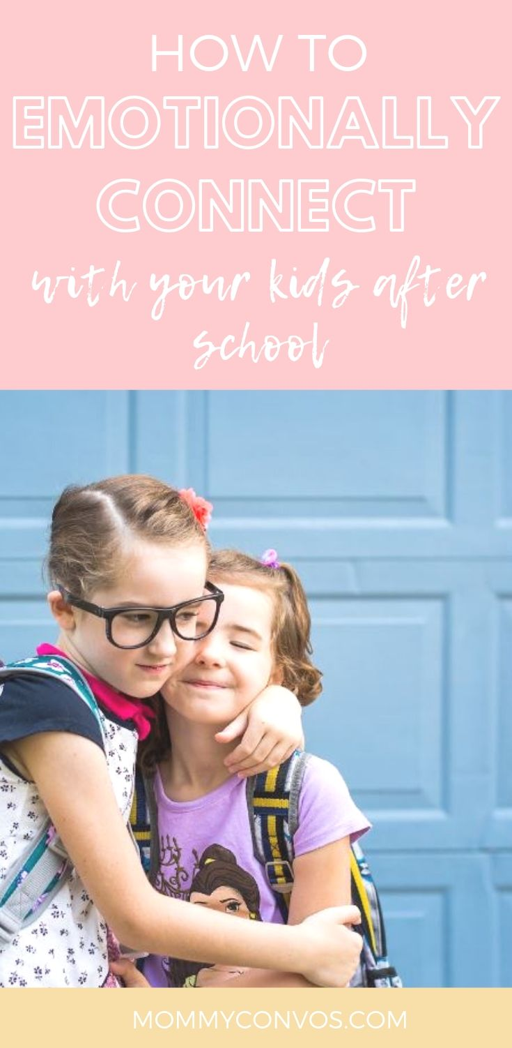 how to emotionally connect with your kids after school. Family Connection. Time for family. Family time. School aids. School helps. Mom helps. How to connect with your kids. Connecting with your kids. After school family time.