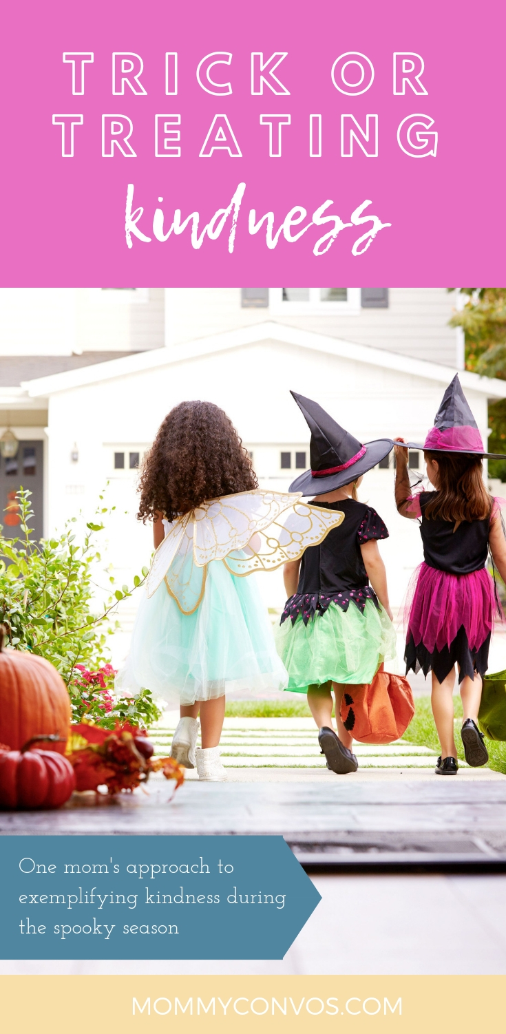 Halloween fun for all ages with one simple guideline. Halloween kindness