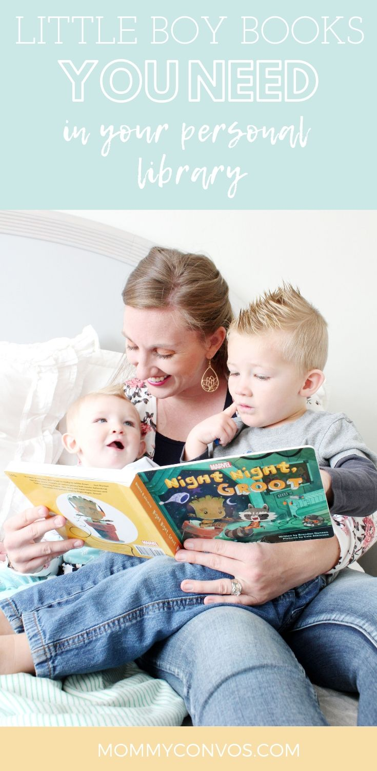 Need new book recommendations for your little boys? MommyConvos has you covered with their massive list of tried and tested favorite bedtime books from a family full of boys. A comprehensive list of books, authors, boy themed books perfect for your family. Books, family, books for the family, boy books, we like to read, reading, reading out loud, reading together, reading time, reading as a family, fun boy books, super hero books, hero, super hero,