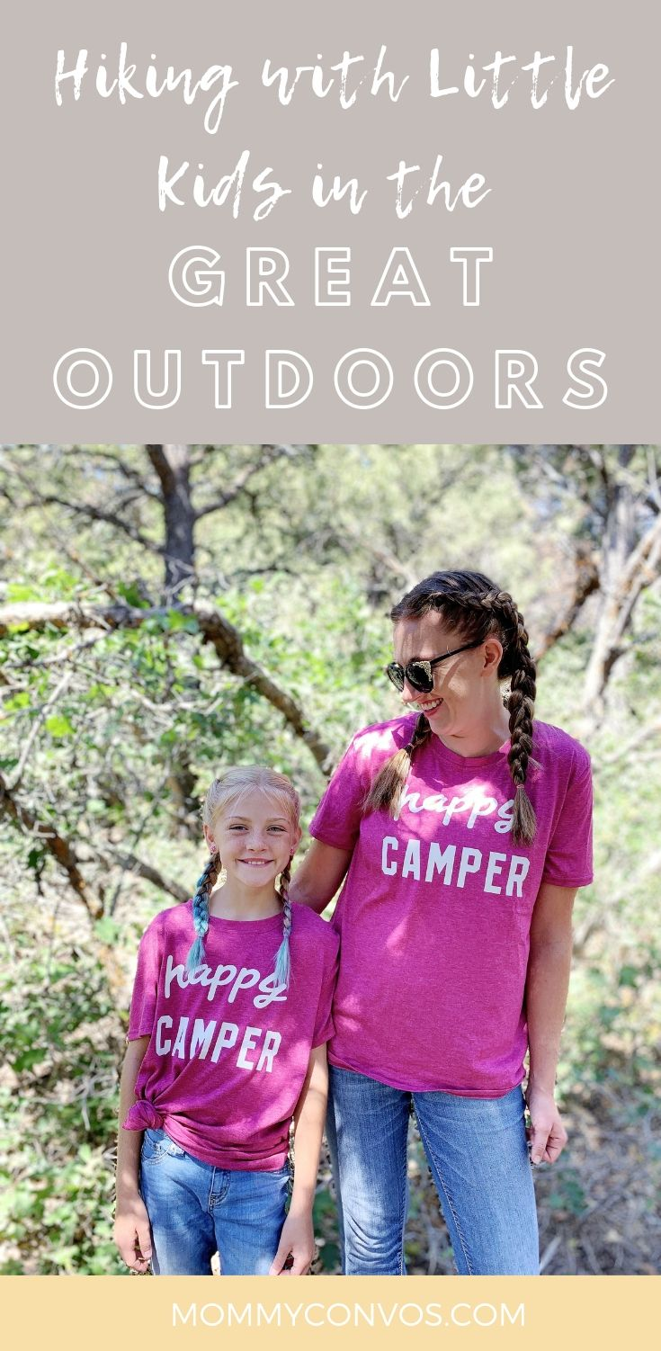 Tips on enjoying the outdoors and hiking with a young family