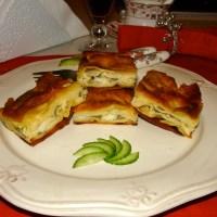 HOMEMADE PASTRY WITH CHEESE-( SU BÖREĞİ )