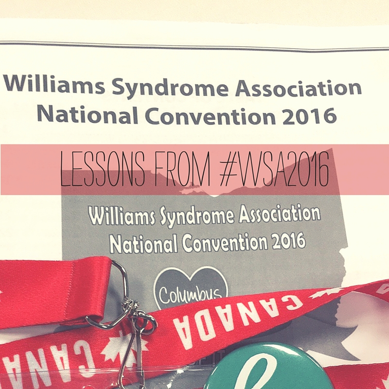 Williams Syndrome Wednesday Lessons from #WSA2016 | mommydo.com