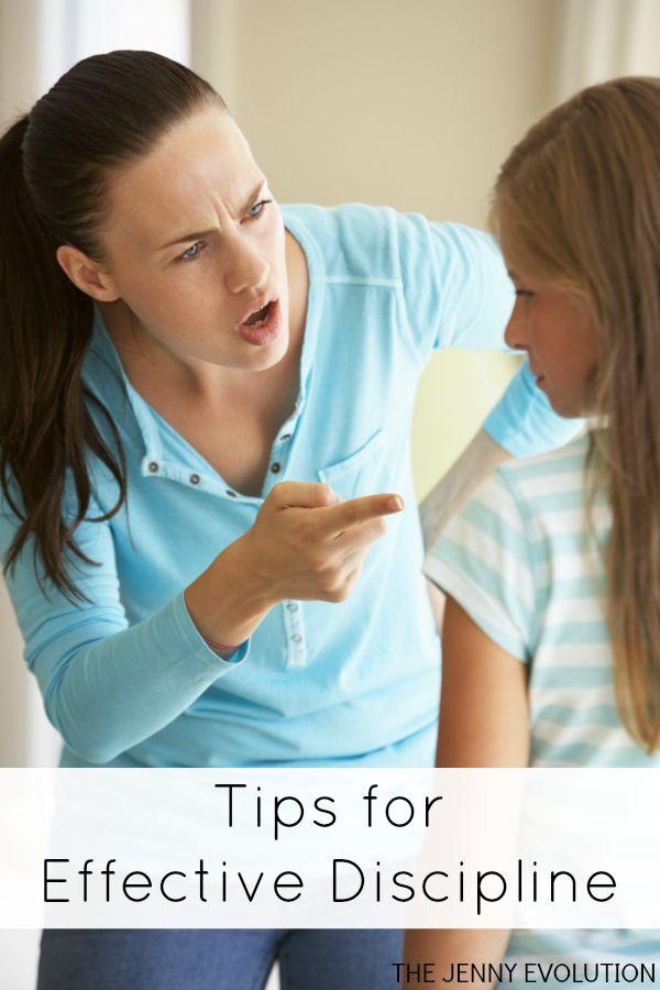 Tips for Effective Disciplining Children | Mommy Evolution