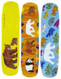 Ouchies - Eric Carle bandages 2