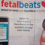 FetalBeats baby heart-rate monitor
