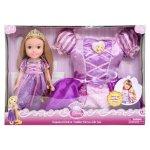 Disney Princess Doll and Dress Set (Rapunzel)