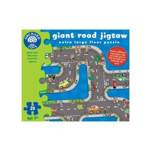 Giant Road Jigsaw Floor Puzzle