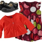 Tea Collection holiday outfit with See Kai Run shoes
