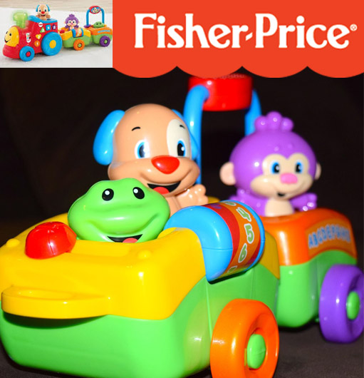 Fisher-Price smart stages train