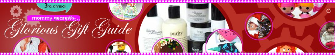 Mommy Gearest gift guide banner