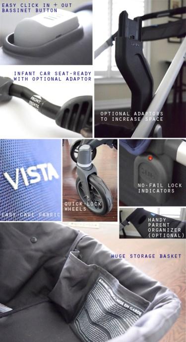 2015 UPPAbaby VISTA features2