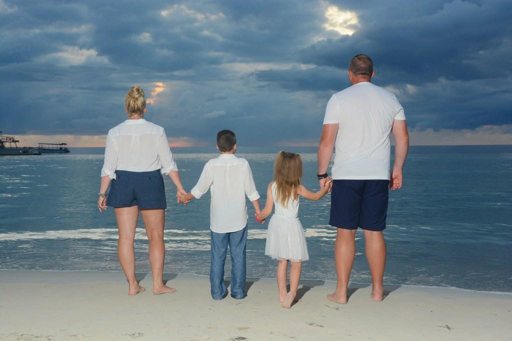 Family photos at Beaches Negril