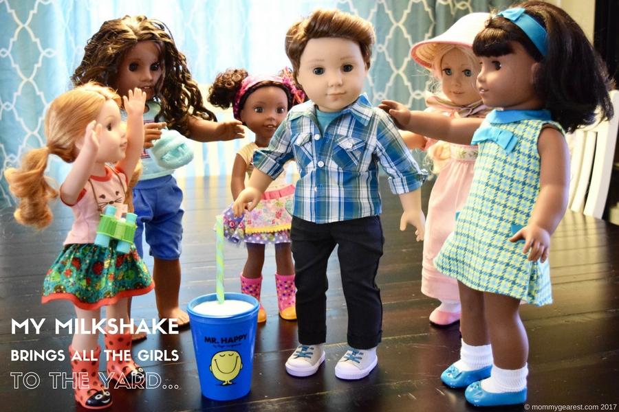 Logan is American Girl's first boy doll.