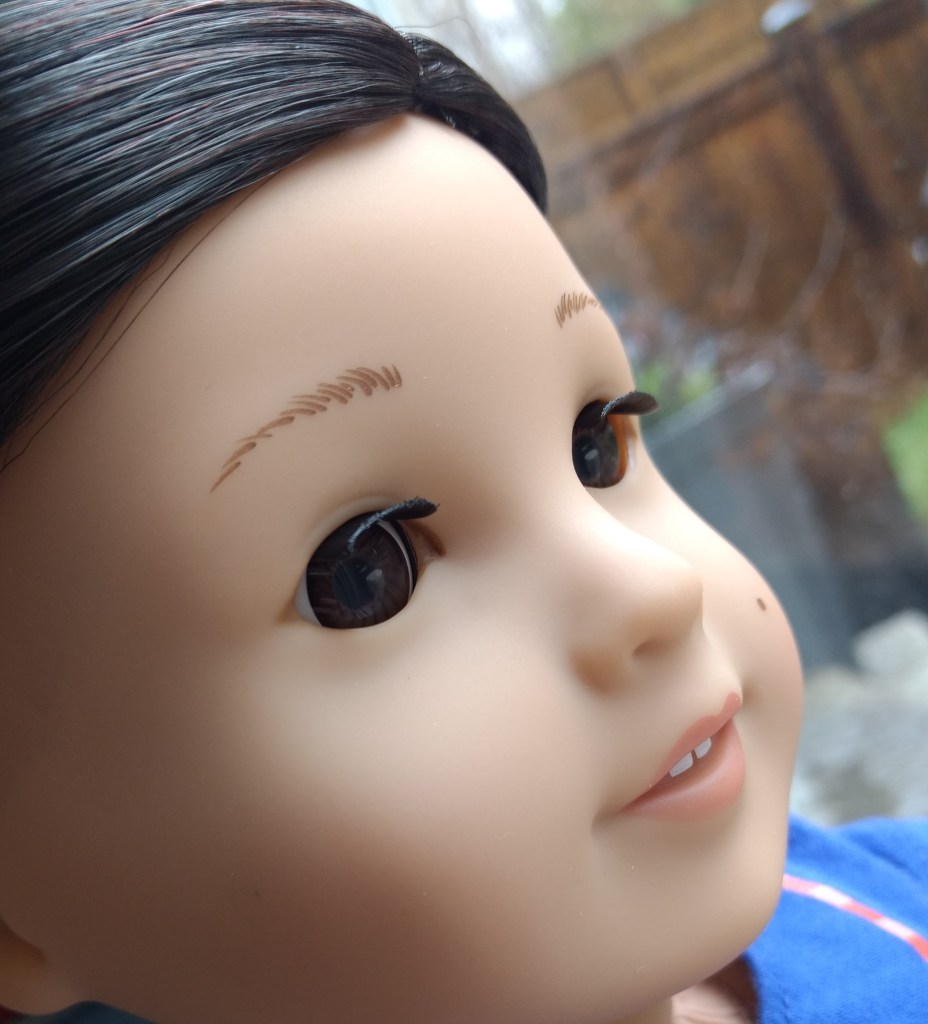American Girl's new doll, Z Yang