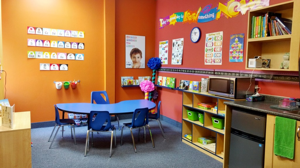 This great little space is reserved for the youngest students at Oxford Learning Bowmanville.