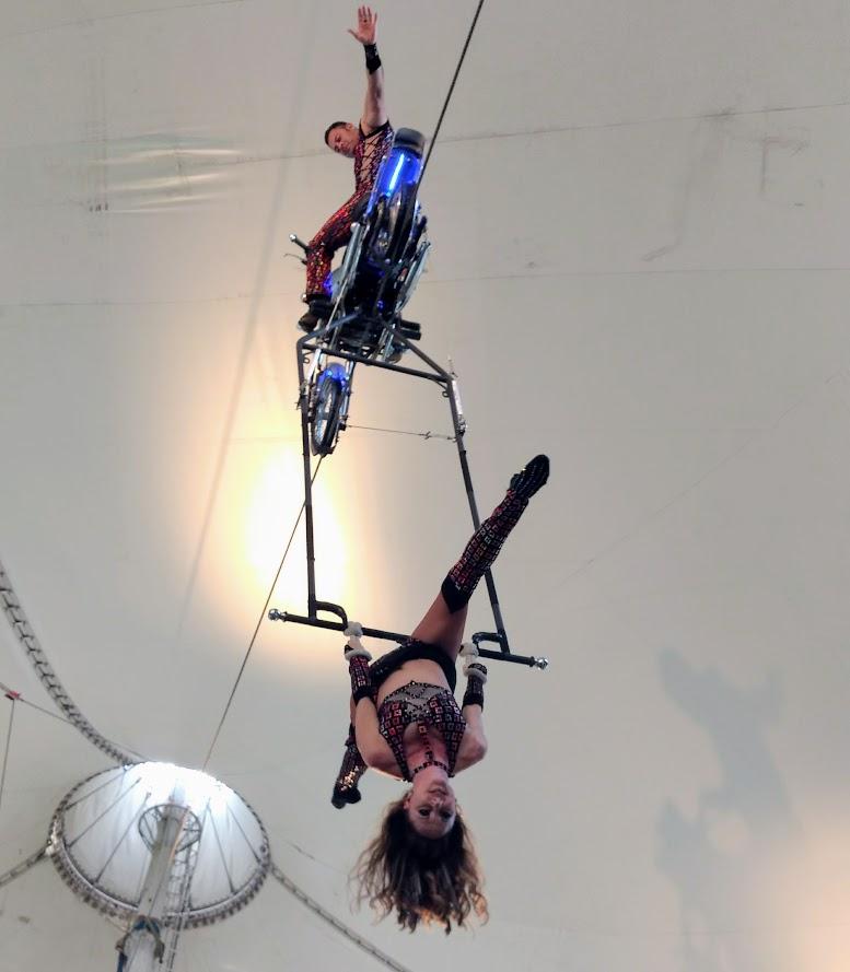 The Ultimate Thrills Circus at Canada's Wonderland.