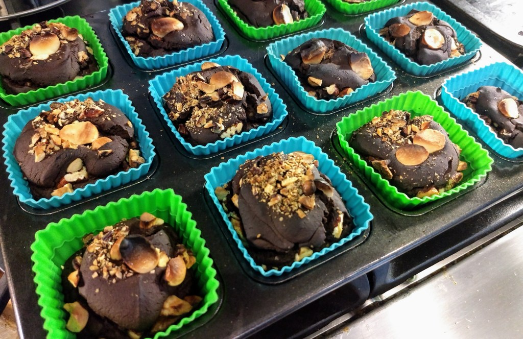 gluten free recipe with chocolate, black beans and zucchini