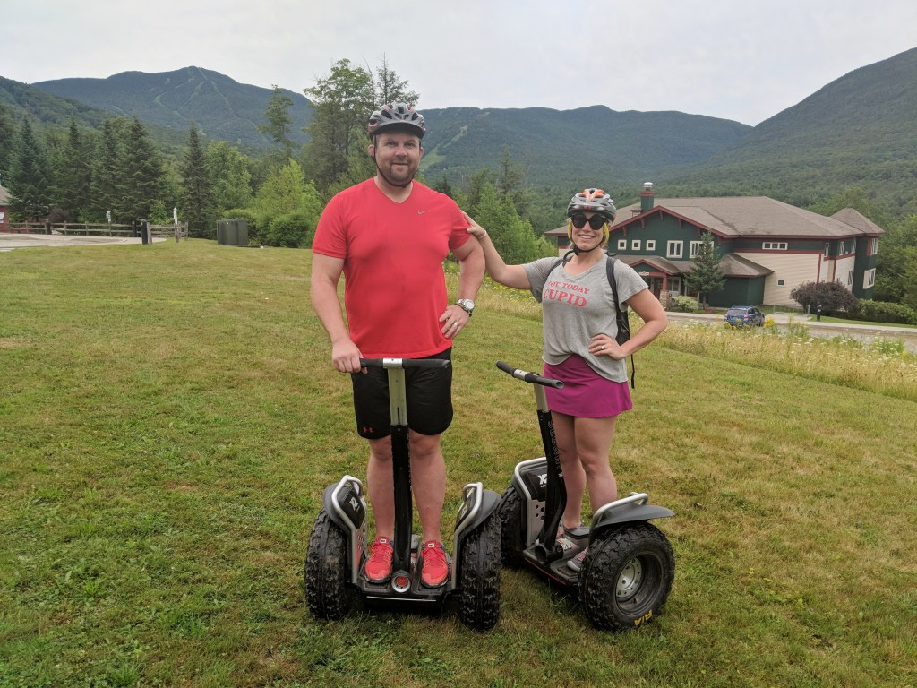 OffRoad Segway Tour Smugglers Notch