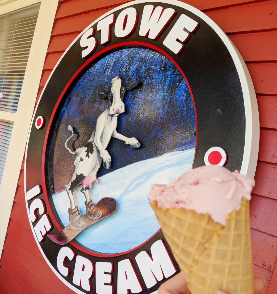best ice cream stowe