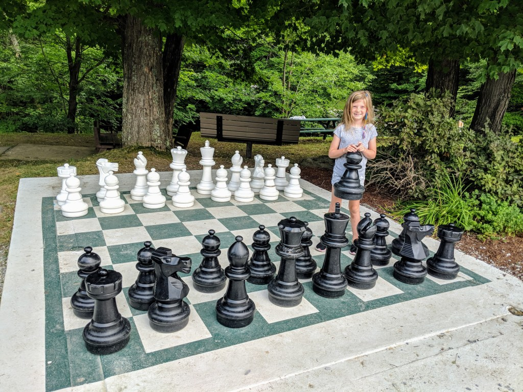 Smuggs giant chess game
