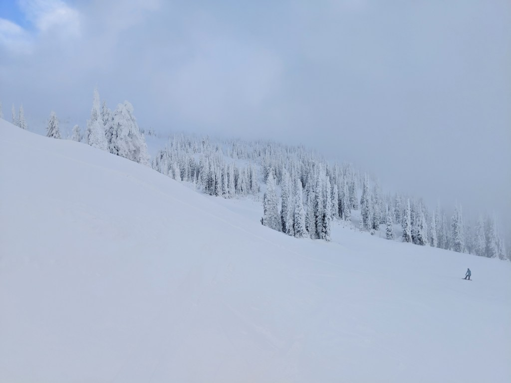 best snow in Canada