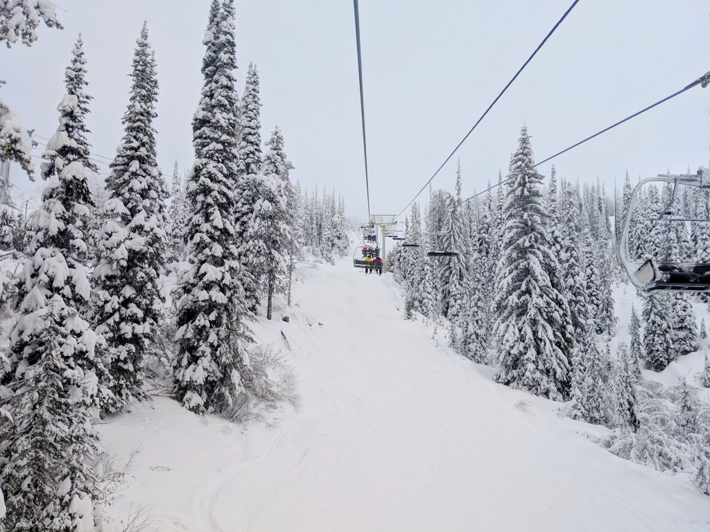 best skiing in BC
