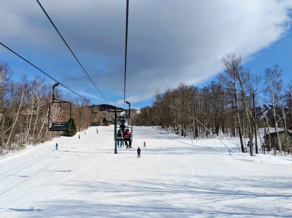 what are the chairlifts like at Smugglers Notch
