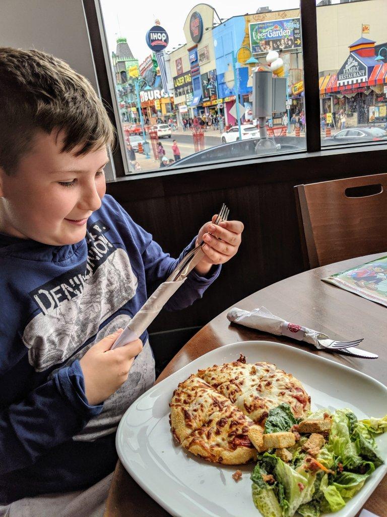 best restaurant for kids clifton hill